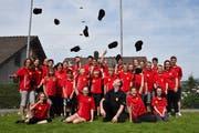Erfolgreiche Sennwalder Jungmusikanten am Jugendmusiktreffen in Gommiswald.
