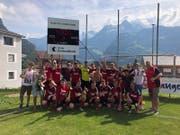 Die A-Junioren des FC Schattdorf haben den Aufstieg in die Coca-Cola-Junior-League geschafft. (Bild: PD)