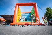 Herdern TG - 20 Jahre Gemeinde Herdern. Fest in der Maschinenhalle Herdern. (Bild: Andrea Stalder)