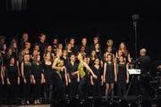 Konzerte mit Cantacanti sind mitreissend, ganz gleich wer sie dirigiert oder begleitet oder welches Programm sie bieten. (Bild: Michael Hug)