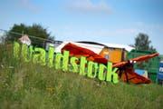 Waldstock-Open-Air-Spektakel hat dieses Jahr das Motto «Willkomme Dihei». (Bild: Maria Schmid (Steinhausen, 4. August 2017))