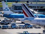 Accors Überlegungen zum Einstieg bei der Fluggesellschaft befinden sich noch in einer frühen Phase. (Bild: KEYSTONE/EPA ANP/ROBIN UTRECHT)