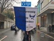 Die Guuggenmusig Musegg-Geischter Lozärn reagiert prompt auf die Forderungen aus Bern. (Bildmontage: PD)