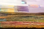 Die Ausgleichskasse setzt gewaltige Geldmengen um (Symbolbild Keystone/Gaetan Bally).