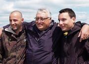 Roland Lei freut sich auf seine Söhne Domenik und Claudio, die ihn während der Fussball-WM besuchen. (Bild: SRF)