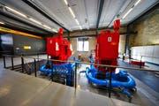 Im denkmalgeschützten Kraftwerk wird nachhaltig Strom produziert. (Bild: PD)