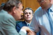 Aussenminister Ignazio Cassis steht regelmässig in der Kritik. (Bild: Peter Klaunzer/Keystone (Bern, 28. Mai 2018))