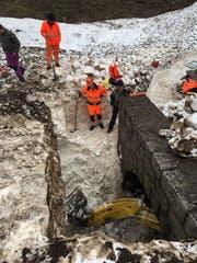 Die Arbeit in und rund um die Tunnels war eine grosse Herausforderung.