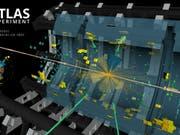 Forschende am Cern haben eine neue Reaktion des Higgs-Bosons entdeckt. Das Teilchen, das erstmals 2012 am Cern nachgewiesen wurde, wird weiterhin erforscht. (Bild: Cern/Atlas-Forschungskonsortium)