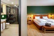 An der Eröffnung und am Tag der offenen Tür konnten die umfassend renovierten Zimmer und Suiten besichtigt werden. (Bild: Jeronimo Vilaplana)