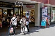 Die OVS-Filiale an der Hertensteinstrasse in Luzern. (Bild: Philipp Schmidli, 1. Juni 2018)