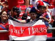 Real-Torhüter Keylor Navas ist der grösste, aber nicht einzige Hoffnungsträger im Team von Costa Rica (Bild: KEYSTONE/AP/MOISES CASTILLO)