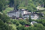Hier, im Hotel Waldegg in Engelberg, soll sich der thailändische König aufhalten. (Bild: Urs Flüeler/Keystone (Engelberg, 5. Juni 2018))