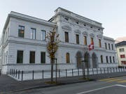 Seit Dienstag stehen ein ehemaliger SBB-Mitarbeiter und drei Geschäftsleute vor dem Bundesstrafgericht in Bellinzona. (Bild: KEYSTONE/TI-PRESS/TATIANA SCOLARI)