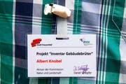 Der Ausweis eines Helfers. (Bild: PD/Sandra Schweizer, NVV Frauenfeld)