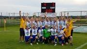 Bereits den vierten Cupsieg haben die jungen Uzwilerinnen errungen – und dies innerhalb von nur etwas mehr als einem Jahr. (Bild: PD)
