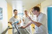 Am Kantonsspital Uri werden junge Ärzte weitergebildet. (Bild: PD)