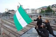 """2011 inszenierte Milo Rau am Theater St.Gallen die Kunst- und Politaktion """"City of Change"""". (Bild: Theater St.Gallen)"""