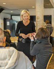 Franziska Reist, neue Leiterin des Vereins Kirchliche Gassenarbeit. Bild PD