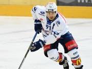 Inti Pestoni spielt in der kommenden Saison für den HC Davos (Bild: KEYSTONE/TI-PRESS/GABRIELE PUTZU)