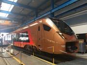 Der neue Voralpen-Express der Südostbahn. (Ralph Ribi)