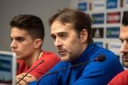 Julen Lopetegui ist seit 2016 Nationaltrainer Spaniens. (Miguel Angel Molina/EPA)
