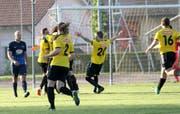 Kann der FC Kirchberg diesen Samstag gegen den FC Wil den Aufstieg in die 3. Liga bejubeln? (Bild: Walter Züst)
