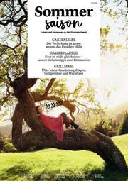 Die Titelseite des neuen Saison-Magazins.