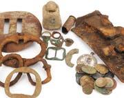 Fundstücke wie diese sind für das Amt für Archäologie von Bedeutung.