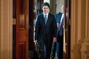 Justin Trudeau und Donald Trump: Das Verhältnis zwischen den USA und Kanada ist angespannt. (Bild: AP (Washington, 13. Februar 2017))
