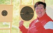 Jahrelang prägte Heidi Diethelm den Schweizer Schiesssport auf internationalem Topniveau. Damit könnte bald Schluss sein. (Bild: Urs Huwyler)