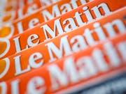 """Keine gedruckte Ausgabe mehr: """"Le Matin"""" erscheint künftig nur noch online. (Bild: KEYSTONE/VALENTIN FLAURAUD)"""