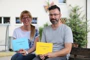 Elisa Hipp wurde mit dem 2. Preis ausgezeichnet. Angel Sanchez lieferte die Fotos für den Gewinner des 1. Preises. Ebenfalls ausgezeichnet wurden Matthias Stadler und Jost Auf der Maur. (Bild: Carmen Epp (Altdorf, 7 Juni 2018))