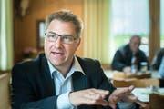 SVP-Nationalrat Toni Brunner greift das Bundesamt für Statistik an wegen dessen Zahlen zu den Landesverweisungen. (Bild: Michel Canonica, (Ebnat-Kappel, 8. April 2018)