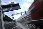 Altdorf soll mit dem Kantonsbahnhof zur Drehscheibe des Urner Verkehrs werden. (Bild: Urs Hanhart (2012))