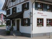 Einladend auch von aussen: der «Ochsen» in Matzingen. (Bild: Urs Bader)