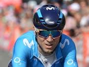 Alejandro Valverde verzichtet auf die Teilnahme an der Tour de Suisse (Bild: KEYSTONE/AP/FRANCOIS WALSCHAERTS)