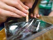 Der Konsum von Kokain hat in Europa gemäss dem EU-Drogenbericht zugenommen. (Bild: KEYSTONE/MARTIN RUETSCHI)