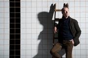 Urban Mäder gewinnt den Kunst- und Kulturpreis der Stadt Luzern. (Archiv: Boris Bürgisser, 18. März 2015)