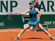 Mit starker Leistung in den French-Open-Final: Simona Halep (Bild: KEYSTONE/AP/MICHEL EULER)