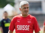Nationalcoach Vladimir Petkovic gibt im Testspiel gegen Japan auch den Ersatzleuten eine Chance (Bild: KEYSTONE/TI-PRESS/ALESSANDRO CRINARI)