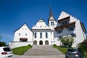 Die katholische Kirche in Hochdorf. (Bild: Manuela Jans, 28. Mai 2015)