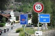 Die personelle Situation im Gemeinderat Wassen sieht alles andere als rosig aus. Bild: Urs Hanhart (Wassen, 7. Juni 2018)