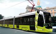 Visualisierung einer Metelitsa-Strassenbahn in St.Petersburg. (Bild: PD)