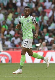 John Obi Mikel ist Captain der «Super Eagles». (Matt Dunham/AP)