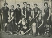 Das LSC-Frauenteam aus der Gründungszeit 1931. (Bild aus der Jubiläumsschrift des LSC)