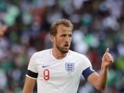 Englands Teamcaptain Harry Kane bindet sich bis 2024 an Tottenham Hotspur (Bild: KEYSTONE/AP/MATT DUNHAM)