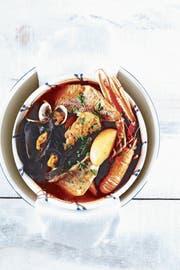 Cotriade: Man isst zuerst die Fischsuppe und dann die Fischstücke. (Bild: Günter Beer)