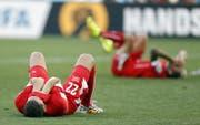 Die Chancen auf eine Schweizer Enttäuschung an der WM sind gross. (Bild: AP)