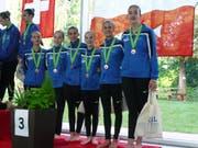 Die Jugend 2: Ladina Lippuner, Noemi Büchel, Leila Marxer, Nadina Klauser, Jessica Jütz und Zana Cekaj (von links).